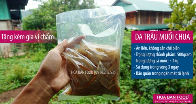 Da Trâu Muối Chua | HOA BAN FOOD