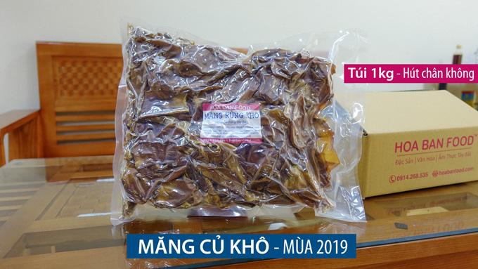 Măng Rừng Khô - 2019 - HOA BAN FOOD