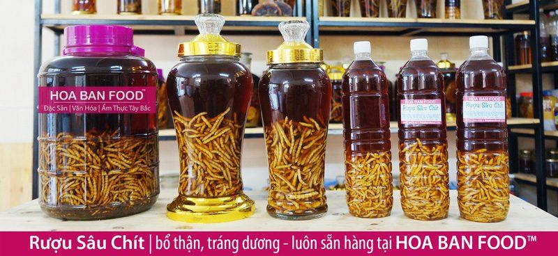 Rượu Sâu Chít | HOA BAN FOOD™
