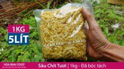 Sâu Chít Tươi đã bóc tách – 1kg | HOA BAN FOOD
