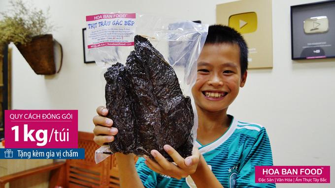 Thịt Trâu Gác Bếp | HOA BAN FOOD™